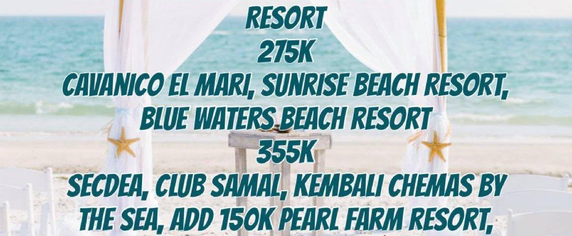 Beach Wedding for 2020-2021