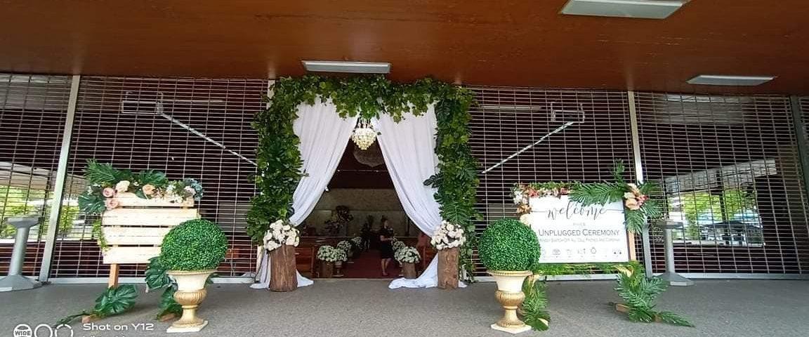 Ceremony decor Is set already  Feb 25 2020  Wedding ...