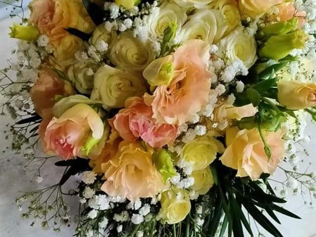 Floral Bouquet For today  IvyGee Bitayo and Tameko Chia   Wedding Feb 2...