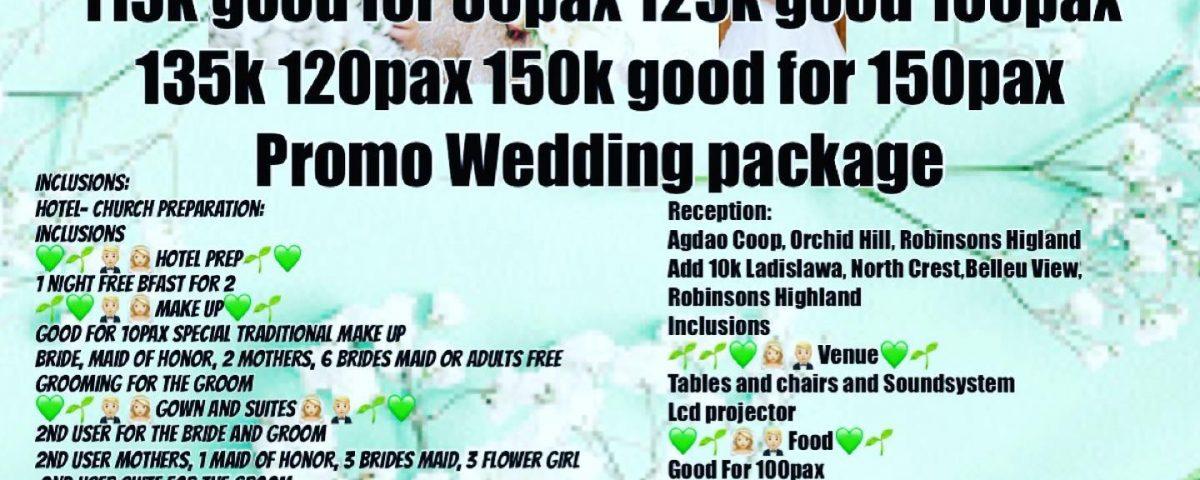 Good news Couples promo promo is back...  Booking period till Nov 2020  Promo pe...