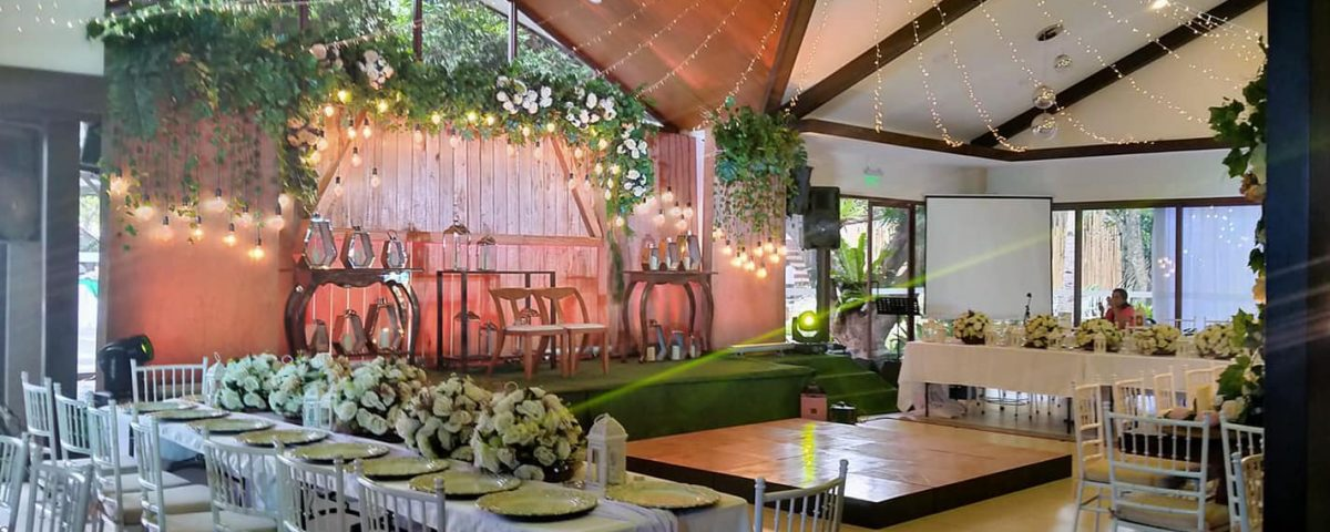 Reception Set up For Maam IvyGee Bitayo and Tameko Chia wedding Feb 25 2020 is r...