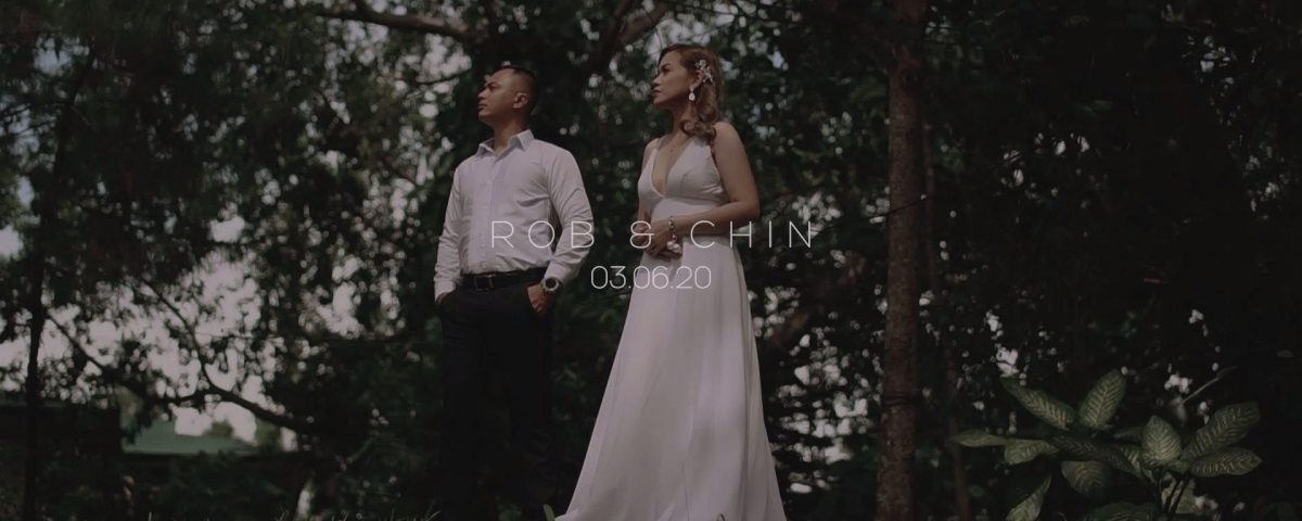 Rob & Chin Save the Date