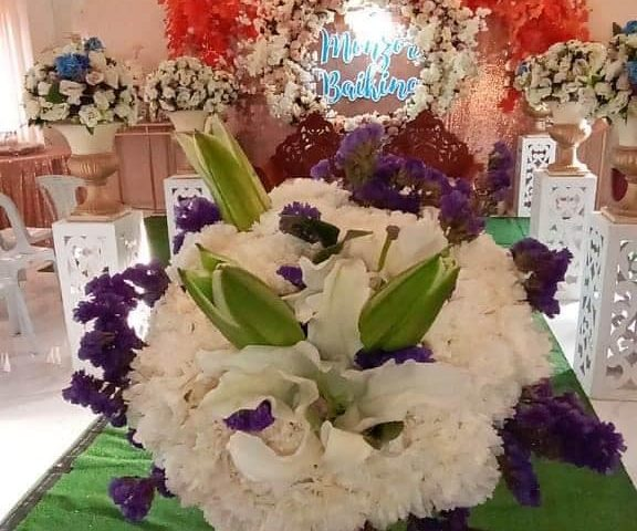 My bridal bouquet for todays wedding  July 27 2020  Monzor and Baiking Edres  #m...
