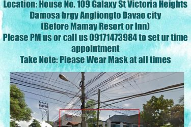 Please be guided po sa new sched for appointment and meetings po..