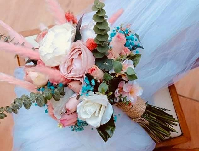 Our Bridal Bouquet For today  The best thing in making bouquet is your getting e...