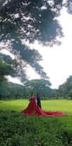 Bild könnte enthalten: eine oder mehrere Personen, Baum, Himmel, im Freien und Natur